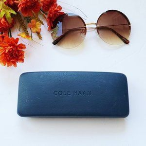 Cole Haan Blue Eyeglass/Sunglass Case